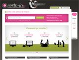 Resto'In et son site sur un plateaud'argent