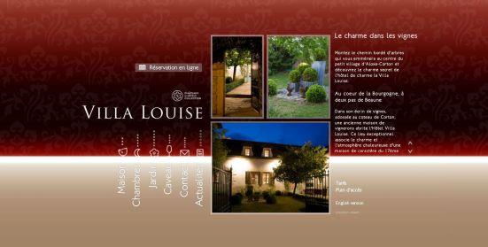 Hôtel Villa Louise vous met la tête à l'envers !