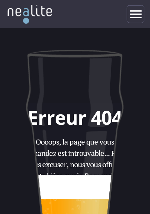 Nealite - Page 404 - Smartphone