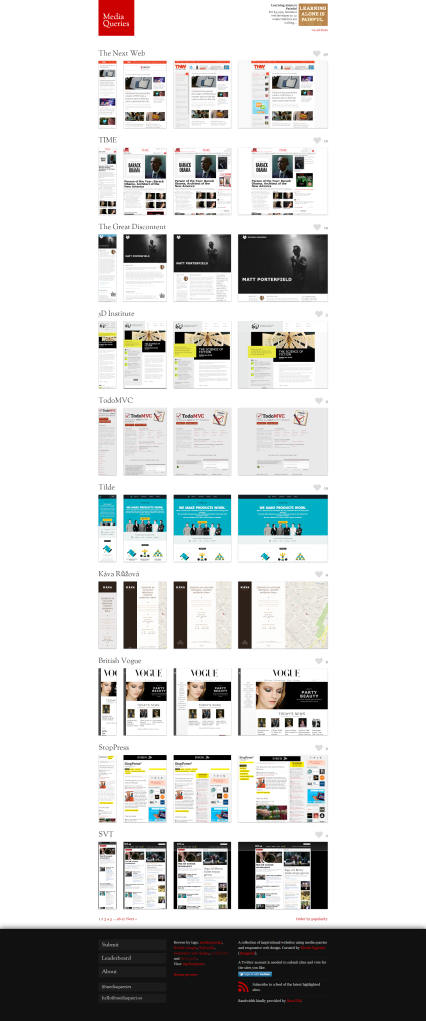 Media Queries : un concentré de Responsive Web Design