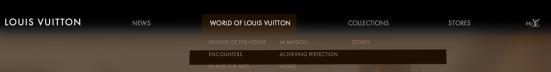 Louis Vuitton - Problèmes de lisibilité des textes
