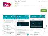 SNCF : une appli pauvre enhomogénéité